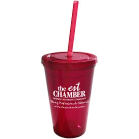 Geneva Double Wall Tumbler for your School