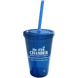 Geneva Double Wall Tumbler (16 Oz.)