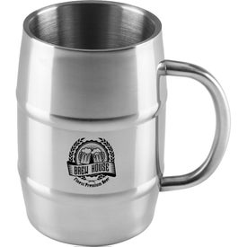 Gigantic Barrel Moscow Mule Mugs (34 Oz.)