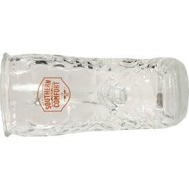 Glass Boot Mug with Your Slogan