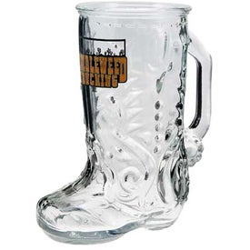 Glass Boot Mug
