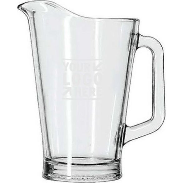 Clear Glass Pitcher