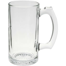 Imprinted Glass Sports Mug