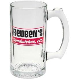 Glass Sports Mug (12 Oz.)
