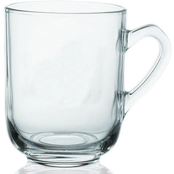 Glass Tea Cup with Lid (13 Oz.)