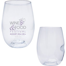 Imprinted Govino Wine Glass