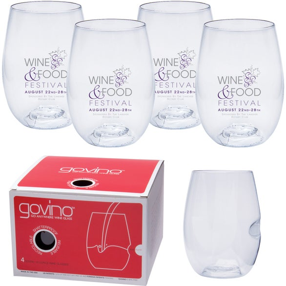 Govino Wine Glass 4 Pack