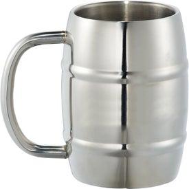 Growl Stainless Barrel Mug (14 Oz.)