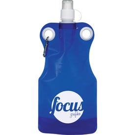 Advertising Hermosa Water Bag with Carabiner