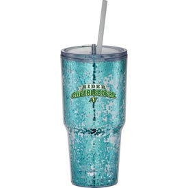 Hot and Cold Celebration Tumbler (24 Oz.)