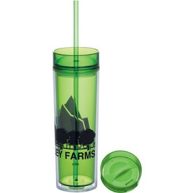 Custom Hot & Cold Skinny Tumbler