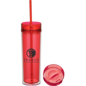 Hot & Cold Skinny Tumbler Imprinted with Your Logo
