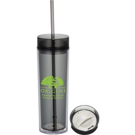 Personalized Hot & Cold Skinny Tumbler