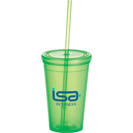 The Iceberg Tumbler with Straw with Your Logo