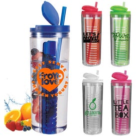 Infuser Tumbler (Full Color, 20 Oz.)