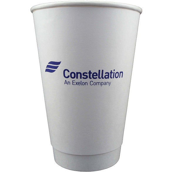 White Insulated Paper Cup