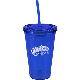 Insulated Travel Tumbler (16 Oz.)