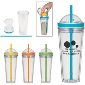 Juicer Tumbler With Straw (20 Oz.)