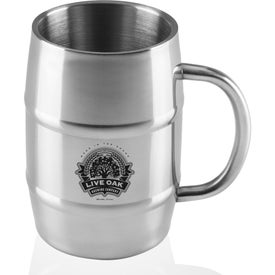 Large Barrel Moscow Mule Mugs (17 Oz.)