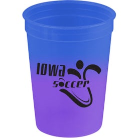 Monogrammed Cool Color Changing Cup