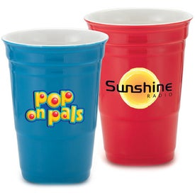 Let's Party Ceramic Cup for Customization