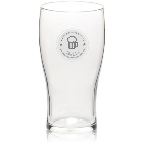 Clear Libbey Beer Glass