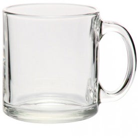 Libbey Clear Glass Coffee Mug (13 Oz.)