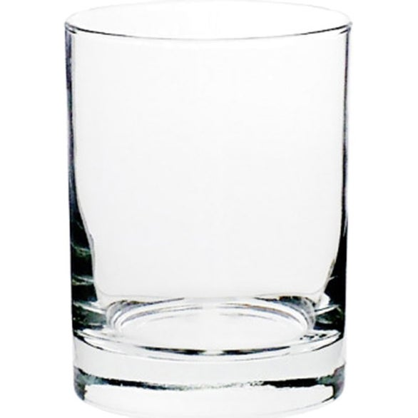 Clear Libbey Heavy Base Whiskey Rocks Glass
