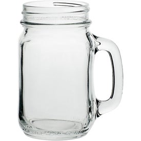 Libbey Mason Jar with Handle (16 Oz.)