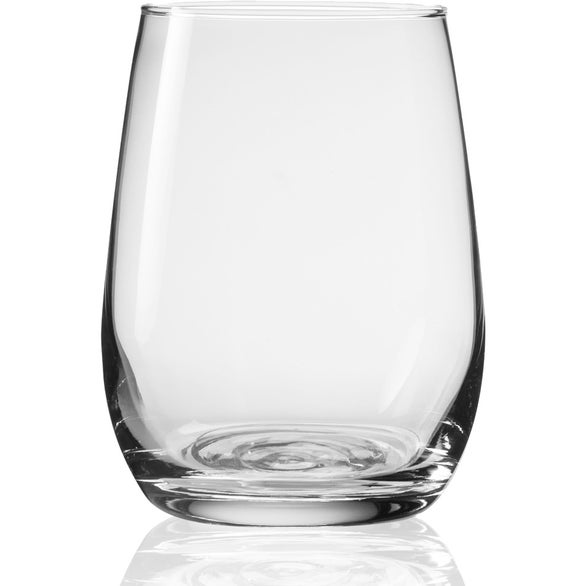 Clear Libbey Stemless Taster Glass