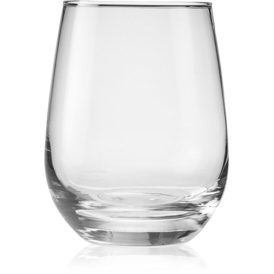Libbey Stemless White Wine Glass (15 Oz.)