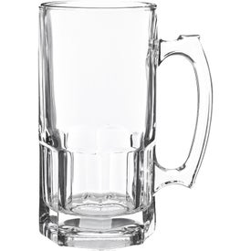 Libbey Super Glass Beer Mugs (34 Oz.)