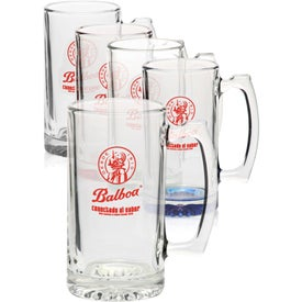 Libbey Tavern Glass Beer Mugs (25 Oz.)