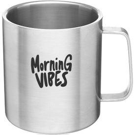 Malva Stainless Steel Mug (15 Oz.)