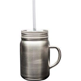 Mason Jar with Handle (22 Oz.)