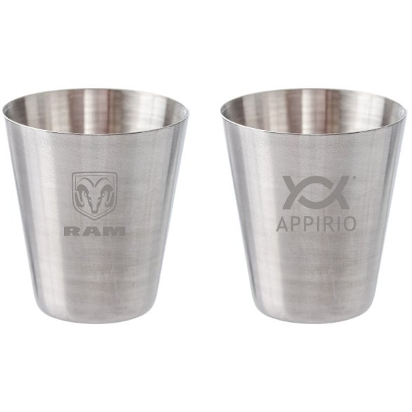 Silver Mini Stainless Steel Shot Glass