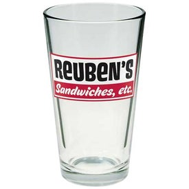Clear Pint Glass (16 Oz.)