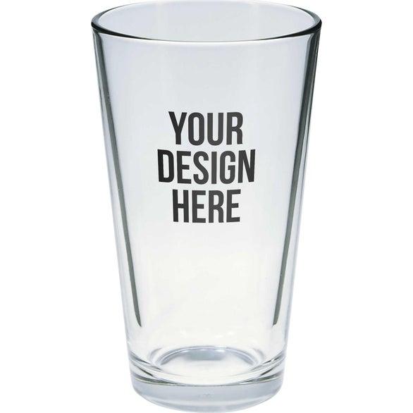 Clear Pint Glass (16 Oz.)