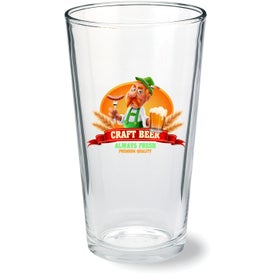 Mixing Glass with HDI Printing (16 Oz.)