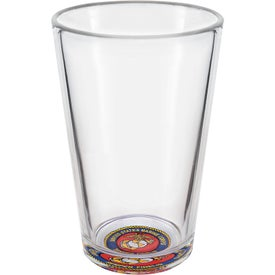 Mixing Pint Glass Printed with Your Logo