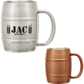 Moscow Barrel Mug (14 Oz.)