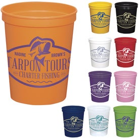 Colored Stadium Cups Giveaways