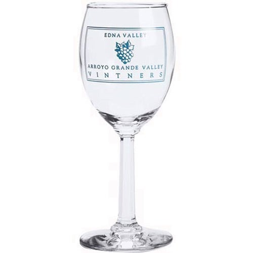 Clear Napa Wine Glass