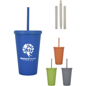 Newport Wheat Travel Tumblers (16 Oz.)