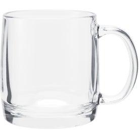 Nordic Glass Mug (13 Oz.)
