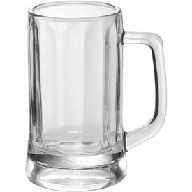 Optic Glass Beer Mug (11.3 Oz.)