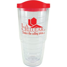 Logo Orbit Tumbler with Lid