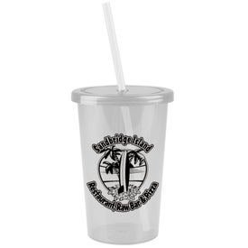 Logo Patriot Travel Tumbler