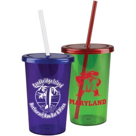 Printed Patriot Travel Tumbler