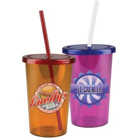 "Patriot Travel Tumbler (20 Oz., 7.75"" x 3.375"" Dia.)"